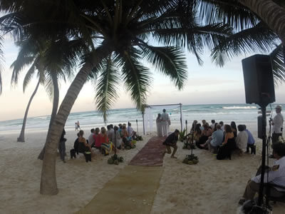 Ceremony Package - Wedding DJs in Tulum